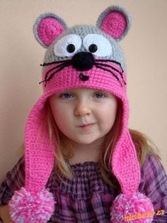 animal beanie hats for kids