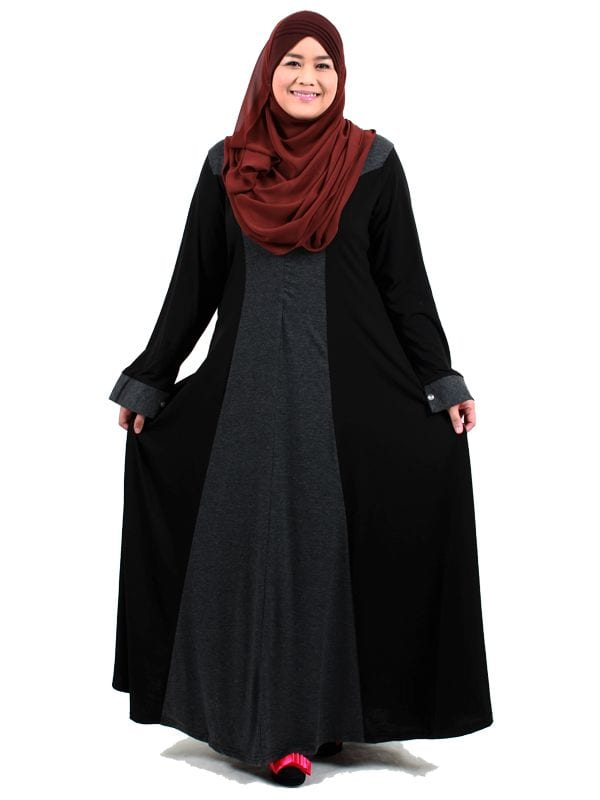 Abaya with Hijab Plus size women