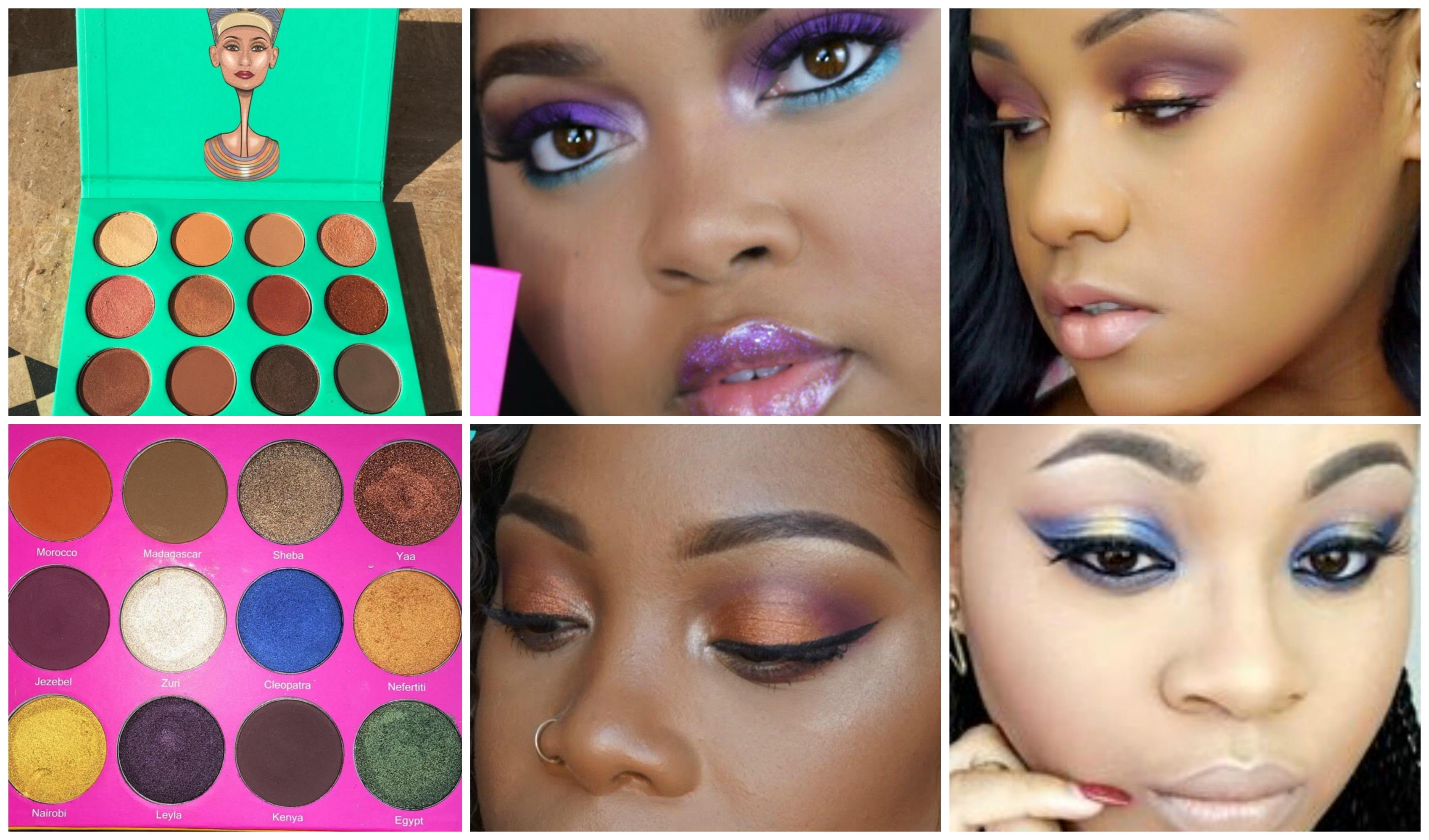 best eyeshadow for dark skin women