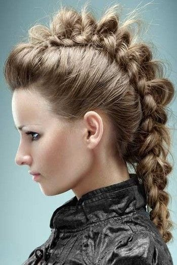 funky-braids 45+ Funky Hairstyles for Teenage Girls To Try This season