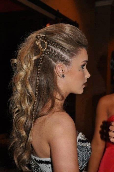 funky hairstyles for medium length hair