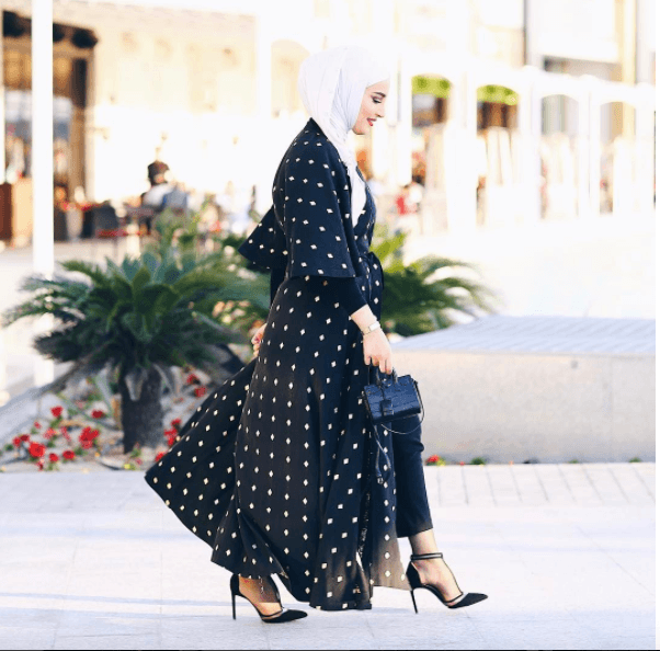 funky-hijab-abaya Funky Hijab Style-16 Cool Ideas to Wear Hijab for Funky Look