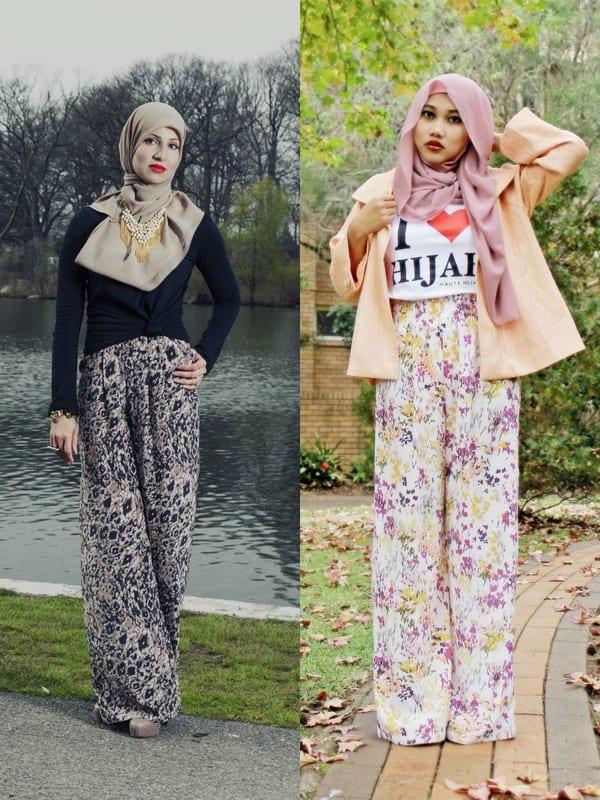 hijab-with-baggy-pants-street-style 14 Popular Hijab Street Style Fashion Ideas This Season