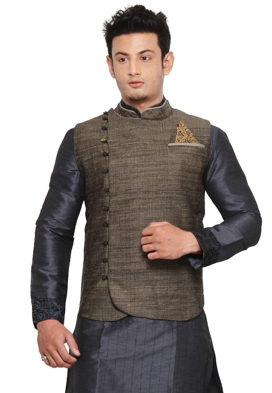 latest-shalwar-kameez-styles 12 Men's Stylish shalwar Kammez Waistcoats Combinations