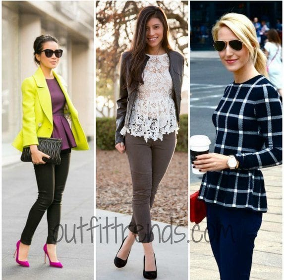 peplum tops 2015 fashion