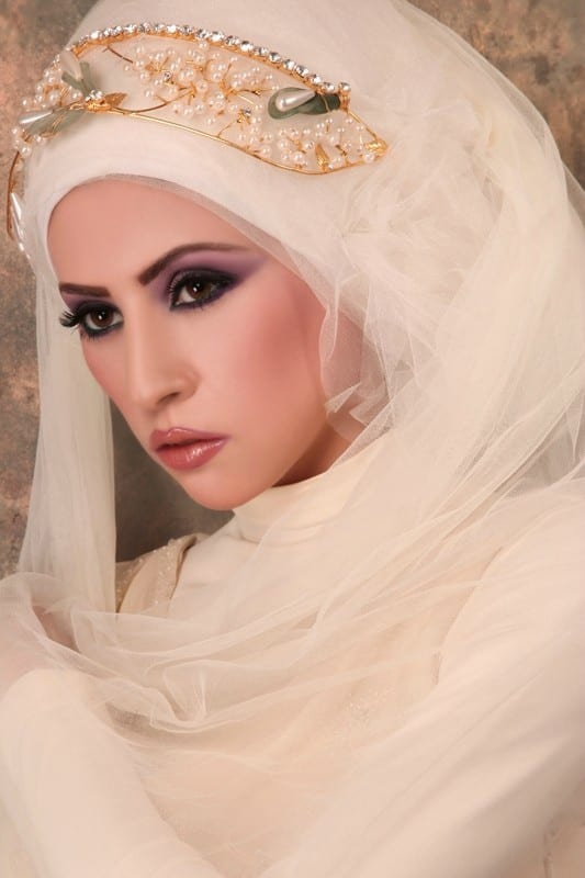 popular hijab wedding clothes