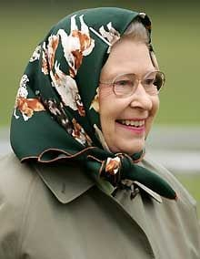 queen elizabeth in Hijab