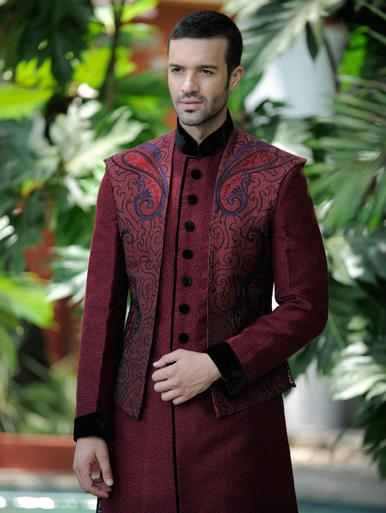 shalwar-kameez-waist-coat-combinations 12 Men's Stylish shalwar Kammez Waistcoats Combinations