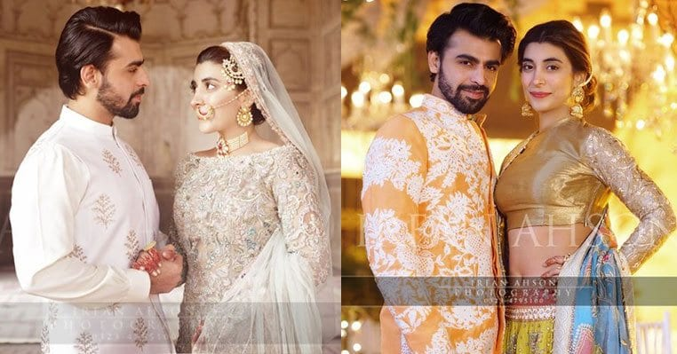 urwa-and-farhan-wedding-picture 10 Most Stylish Pakistani Bridal Dresses for This Season