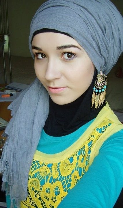 earrings with hijab