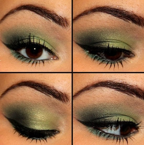 Best-Green-Smokey-Eye-Make-Up-Ideas-Looks-Pictures Top 10 Smokey Eye Makeup Tutorials for Green Eyes