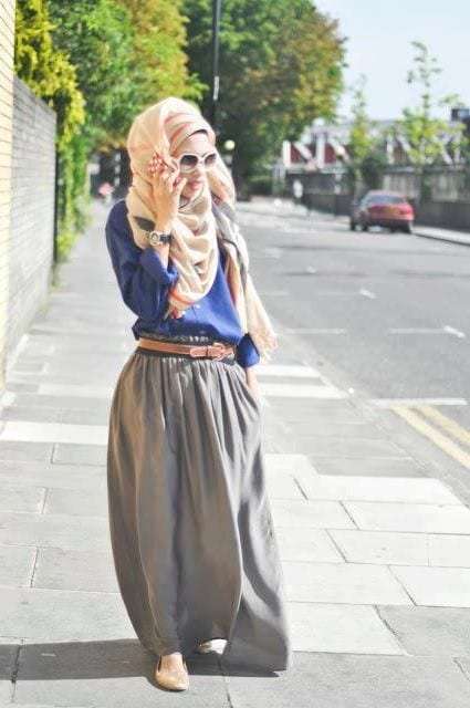 Chic-hijab-outfits Hijab Outfits for Teenage Girls - 20 Cool Hijab Style Looks
