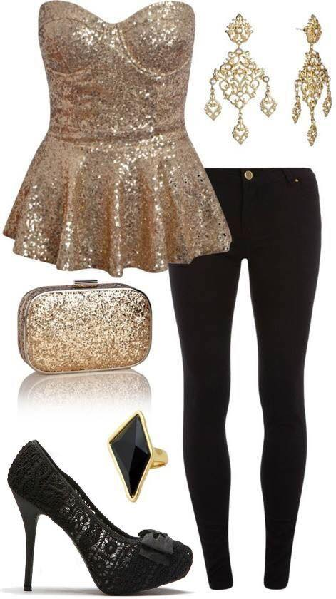 Cute New year outfits for teens