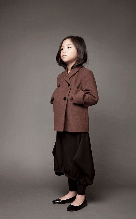 Elegnat winter style for kids