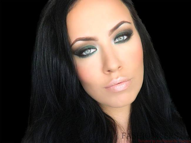 Emerald Green Eye Makeup Tutorial