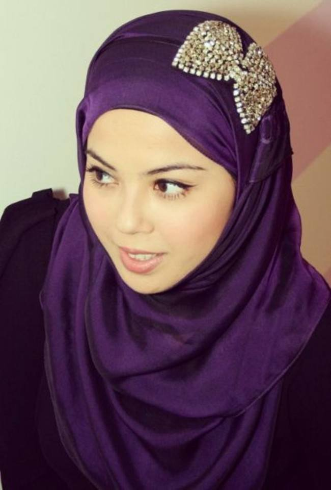 Stylish hijab headbands