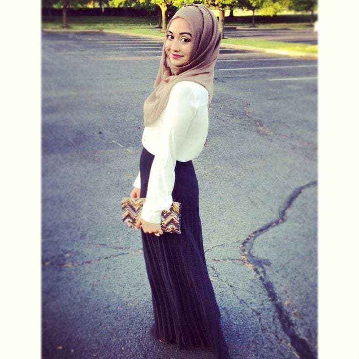 Hijab-fashion-for-teens Hijab Outfits for Teenage Girls - 20 Cool Hijab Style Looks