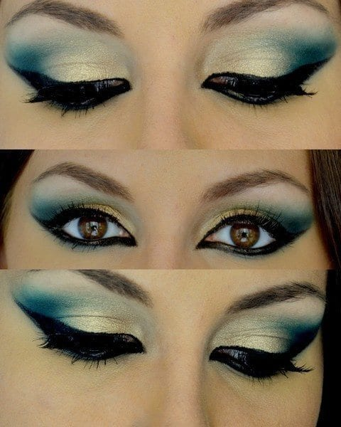 Latest-arabian-eye-makeup-tips 10 Best Arabian Eye Makeup Tutorials With Step by Step Tips