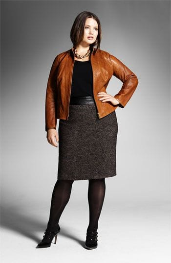 Latest plus size winter fashion