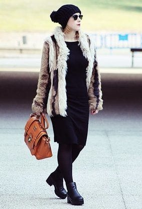 Street style with long coats