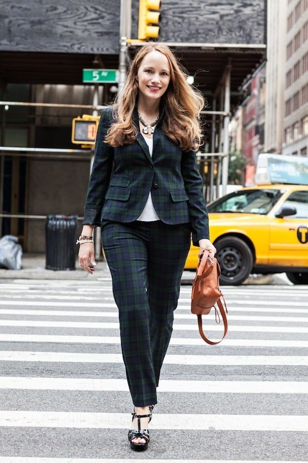 Stylish suits for working women