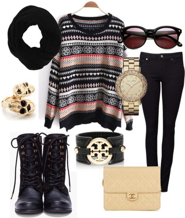 Teenage girls winter date dressing