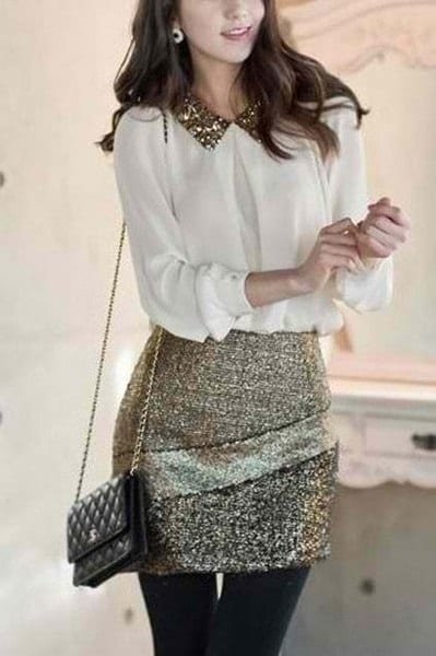 Womens-outfits-for-New-Years-Eve 25 Sexy New Year Eve Outfits For Teenage Girls 2018