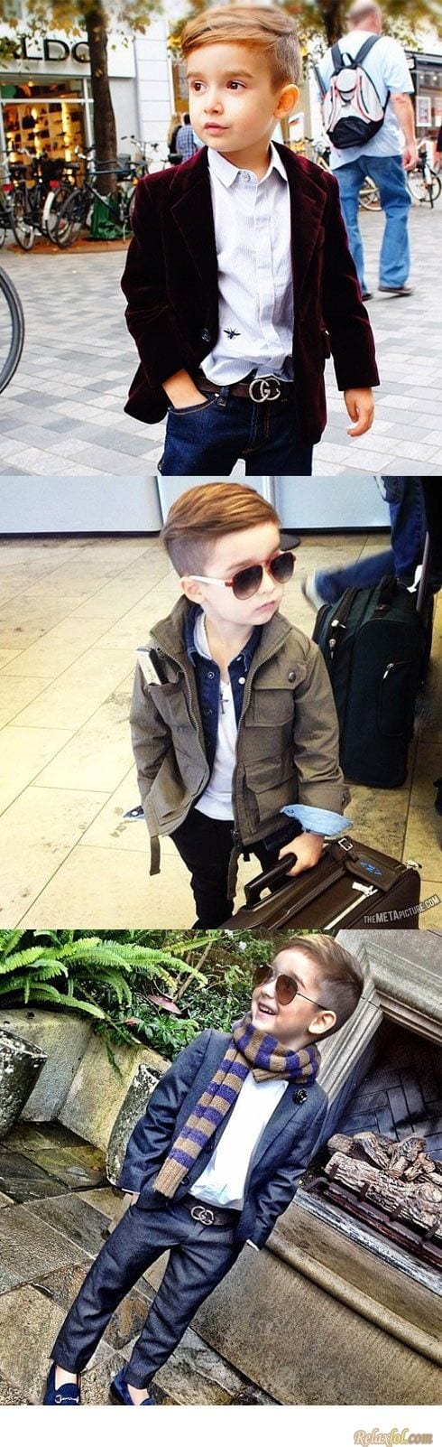 Youngest kid fashion blogger