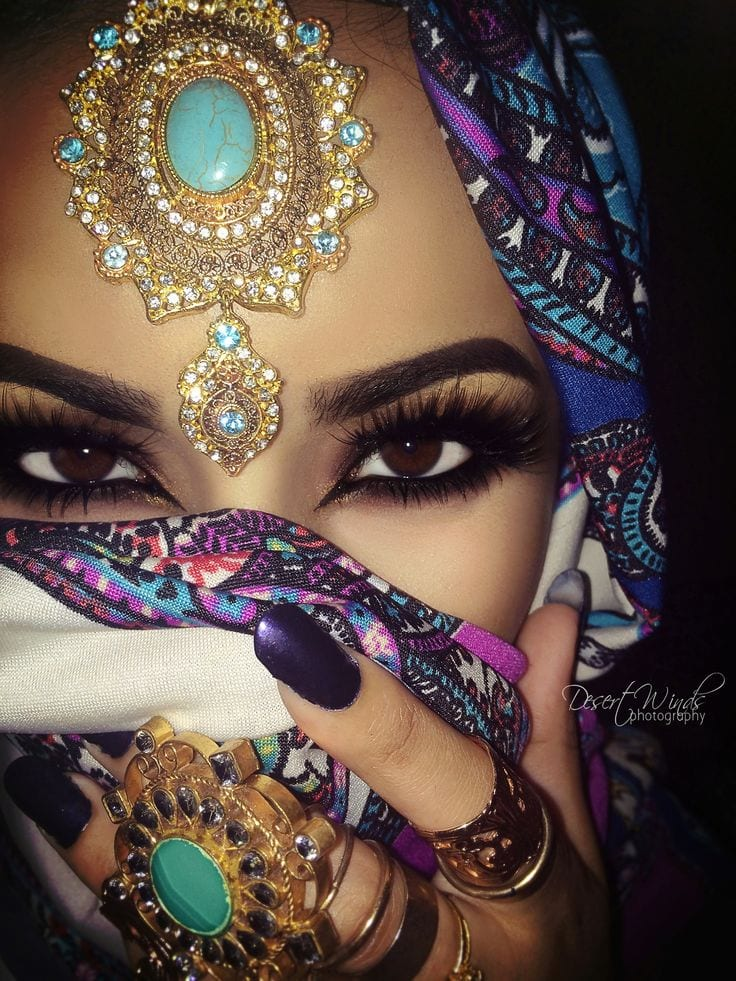 arab girls makeup