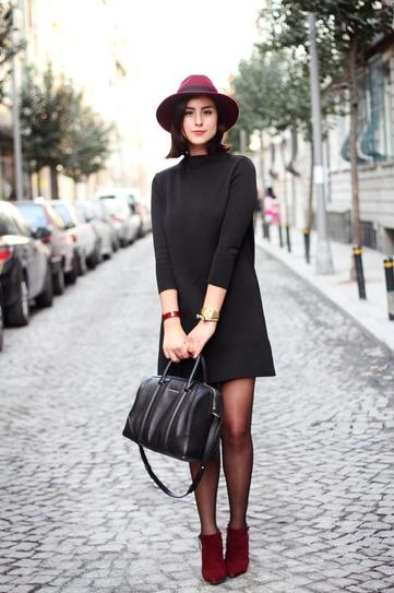black-outfits-for-date-night How to Dress Up for Winter Date- 30 Cute Winter Date Outfits
