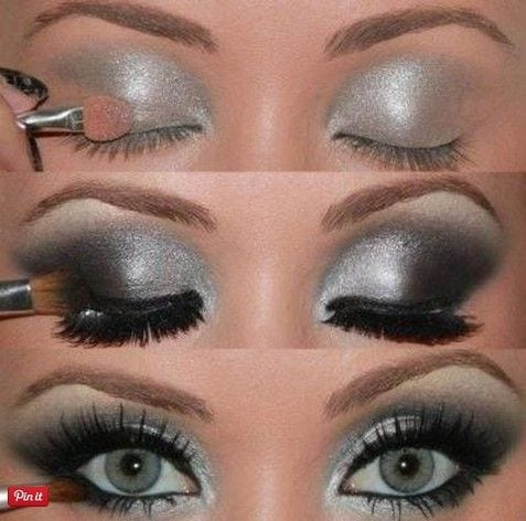 eyeshadow-for-green-eyes Top 10 Smokey Eye Makeup Tutorials for Green Eyes