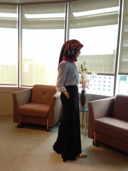 hijab job dress