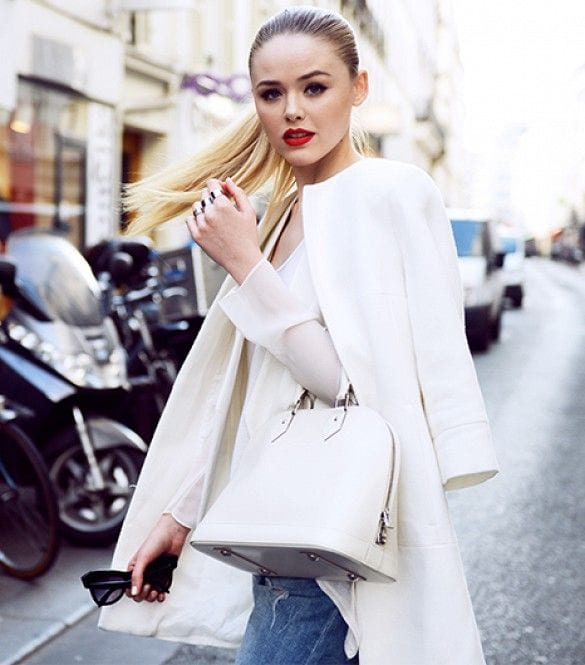 kristina-bazan-makeup 18 Most Stylish Kristina Bazan Winter Outfits To Copy