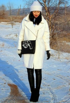 latest-coffret-coat-style1 Long Coat Styles -20 Ways to Wear Long Coats This Winter