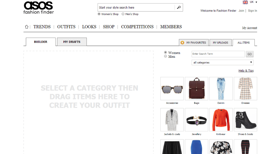 places-to-make-outfits-combinations1 Outfits Making Website-Top 5 sites to Create Outfits Online