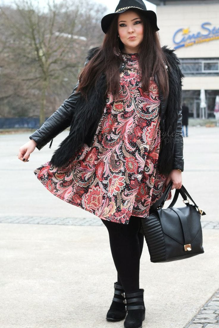 plus-size-winter-clothes Plus Size Winter Outfits-14 Chic Winter Style for Curvy Women