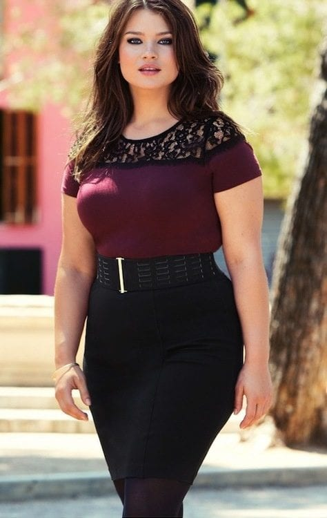 sexy-curvy-chics 12 Hot Plus Size Street Style Fashion Ideas for This Season