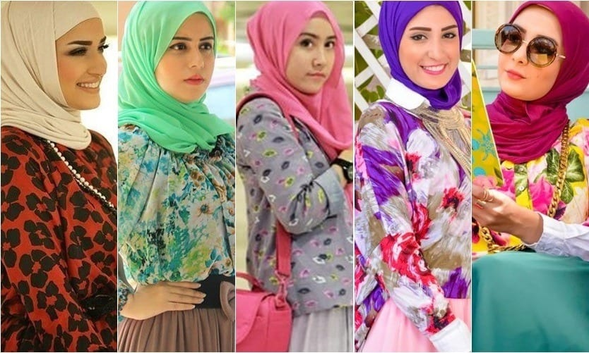 sexy-girls-in-hijab Hijab Outfits for Teenage Girls - 20 Cool Hijab Style Looks
