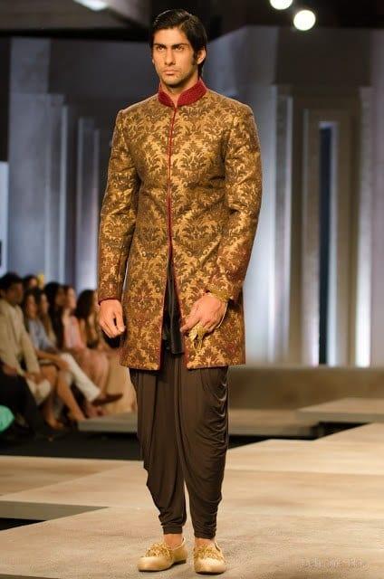 sherwani with shlawar style