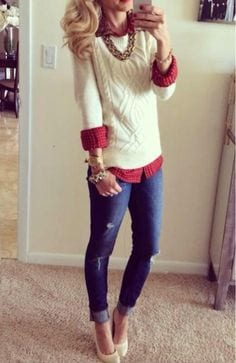 outfittrends: 17 Cute Holiday Outfits For Teenage Girls To ...