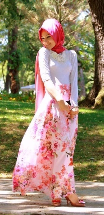 spring-hijab-style Hijab Outfits for Teenage Girls - 20 Cool Hijab Style Looks