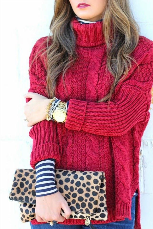 winter-holiday-outfits-teens 17 Cute Holiday Outfits For Teenage Girls To Try this Season