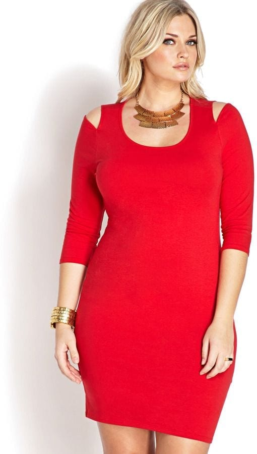 Plus size women Valentines party dresses (17)