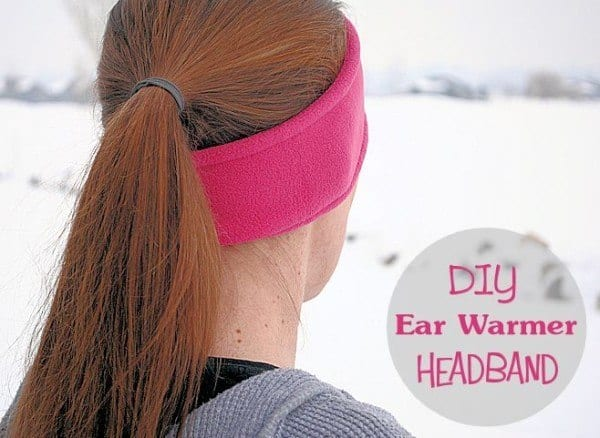 DIY EAR WARMER HEADBAND