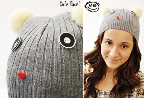 DIY-WINTER-HAT 50 Most Useful DIY Winter Fashion Ideas with Tutorials
