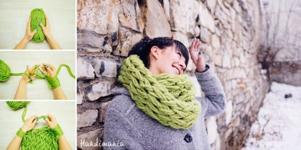 DIY-infinity-scarf 50 Most Useful DIY Winter Fashion Ideas with Tutorials