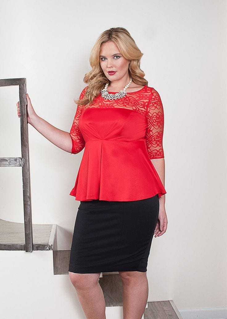 cute valentine's day outfits for plus size girls (9)