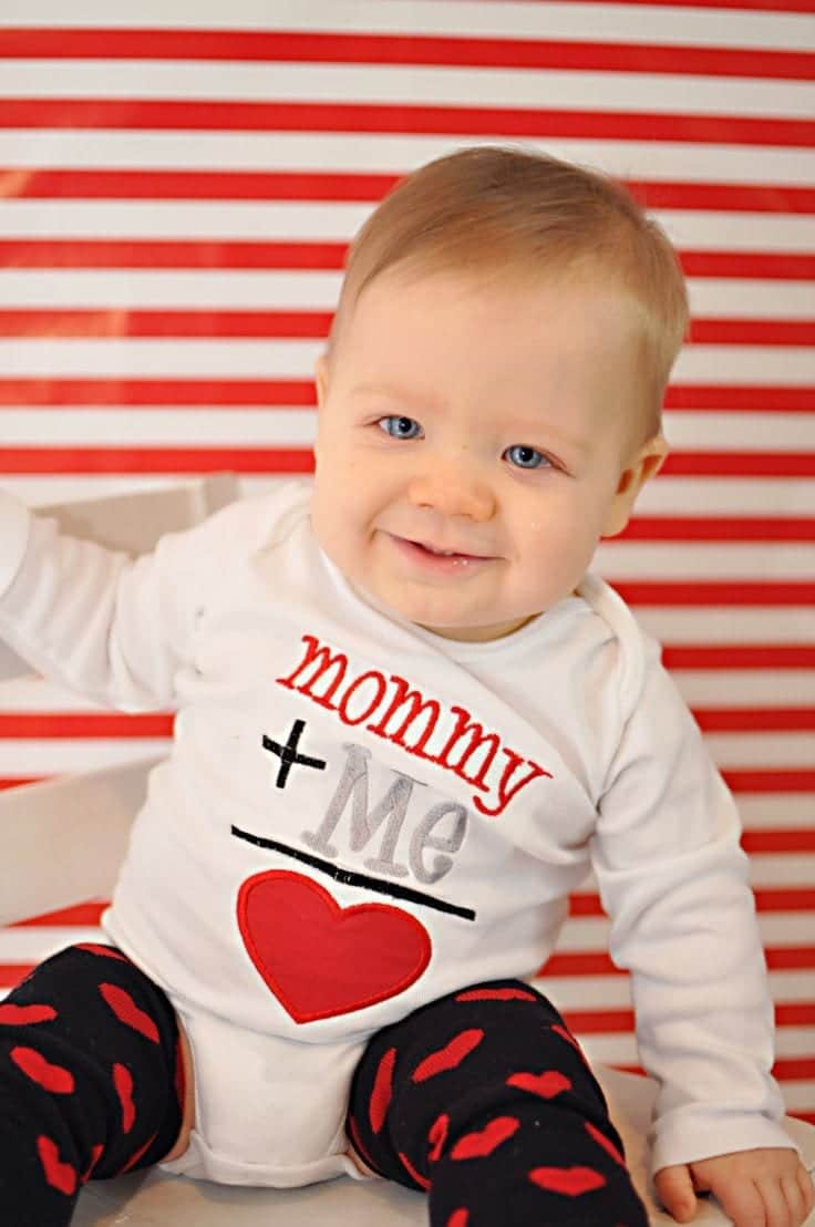 20 cute valentines day outfits for toddlersbabies this year - Baby Valentine