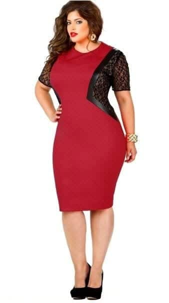 cute valentine's day outfits for plus size girls (5)