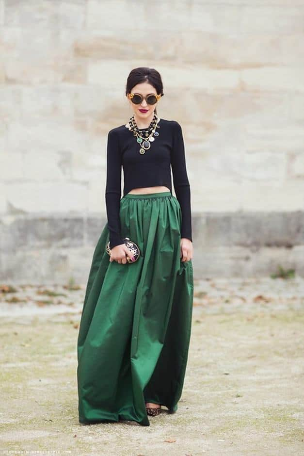 how to wear skirts in winter (18)